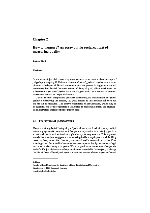 pdf chapter  how to measure an essay on the social context of  pdf