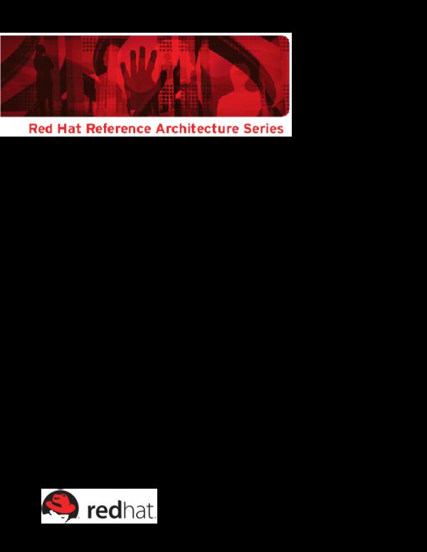 PDF) JBoss EAP 6 Clustering JBoss Enterprise Application