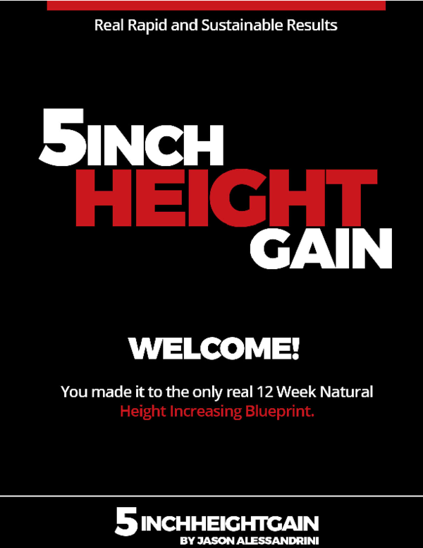 PDF) Grow taller Get real results Over 12 wks Be healthier