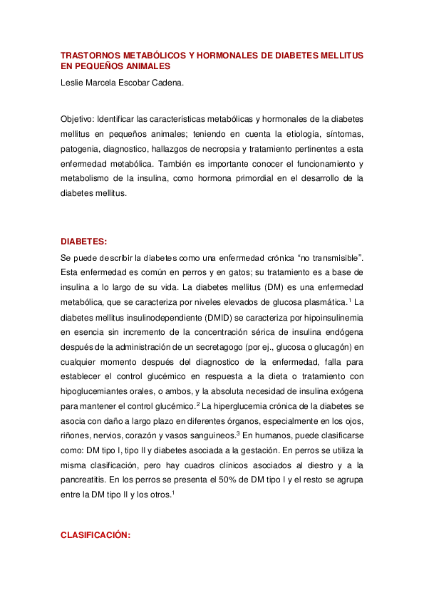 diabetes mellitus monogénica