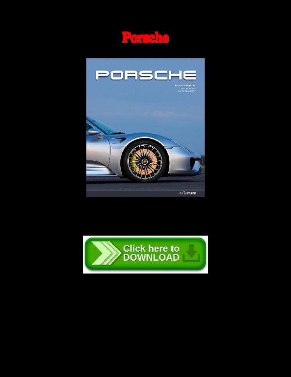 PDF) [PDF] Porsche | Tracey Forbes - Academia edu