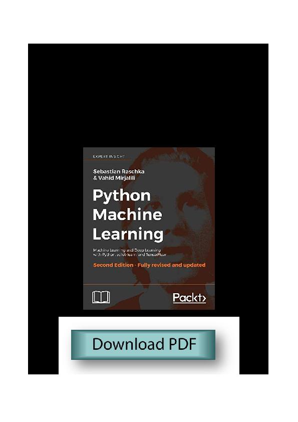 Deep Download Pdf Python Machine Learning – Meta Morphoz