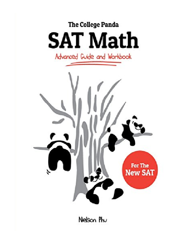 (PDF) The College Panda's SAT Math: Advanced Guide and