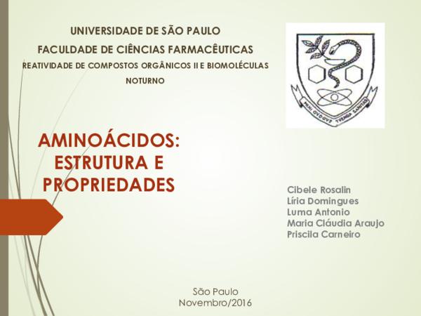 Pdf Universidade De São Paulo Faculdade De Ciências