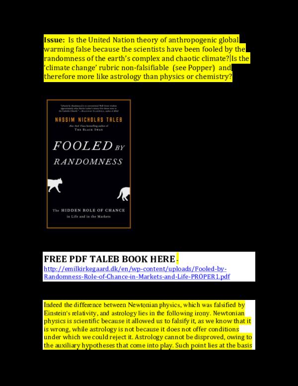 PDF) Fooled by Randomness by Nassim Nicholas Taleb pdf