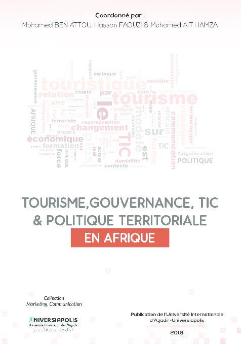 Pdf Tourisme Gouvernance Tic Politique Territoriale En Afrique Atoussa Ella Academia Edu