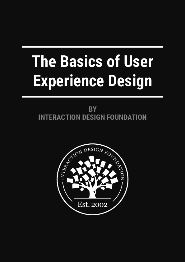 Pdf The Basics Of User Experience Design By Interaction Design Foundation Yvan B Academia Edu
