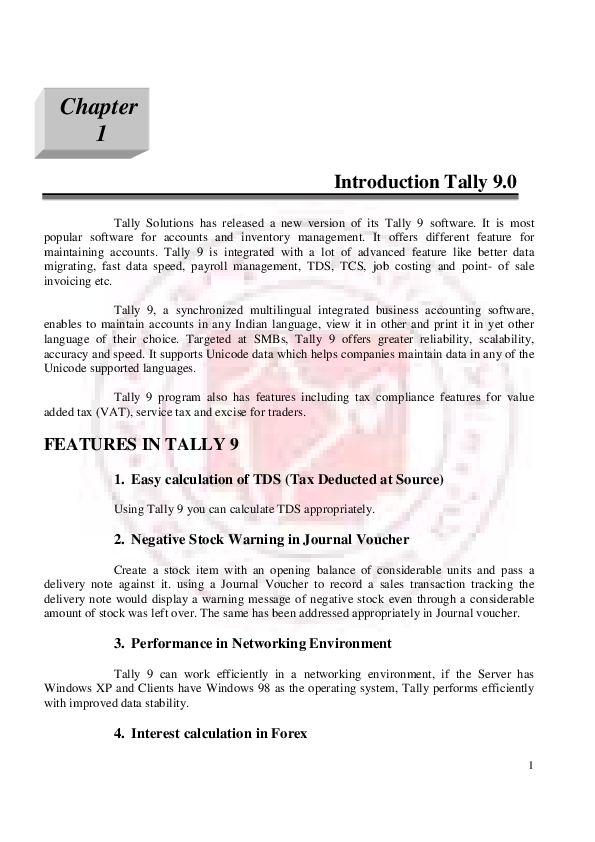 PDF) TALLY 9 0 PDF | KIDZEE SCHOOL - Academia edu