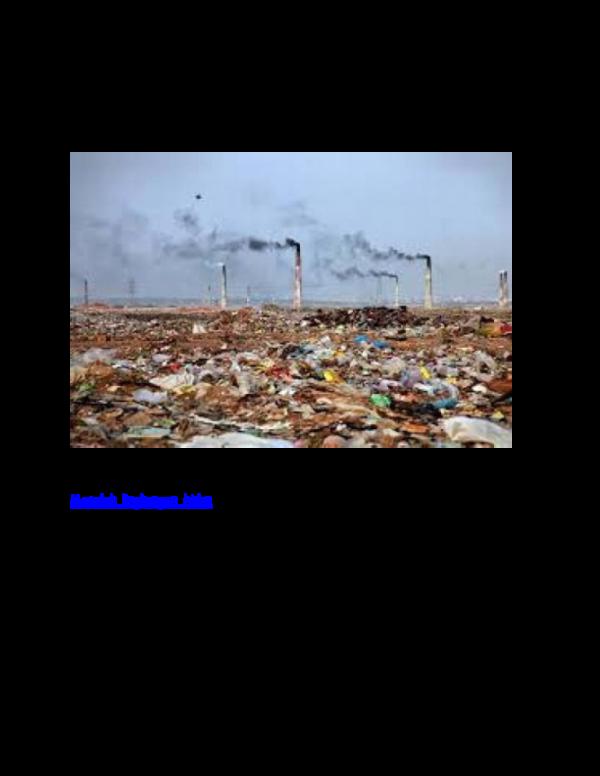Doc Masalah Lingkungan Hidup Di Indonesia Dan Dunia Saat Ini Bastian Unawekla Academia Edu