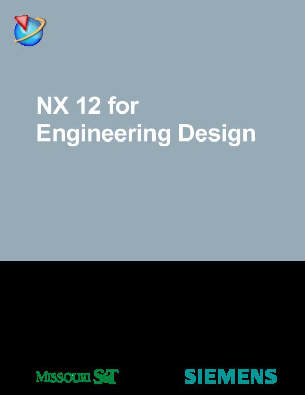 PDF) NX 12 for Engineering Design | sujoy chakraborty