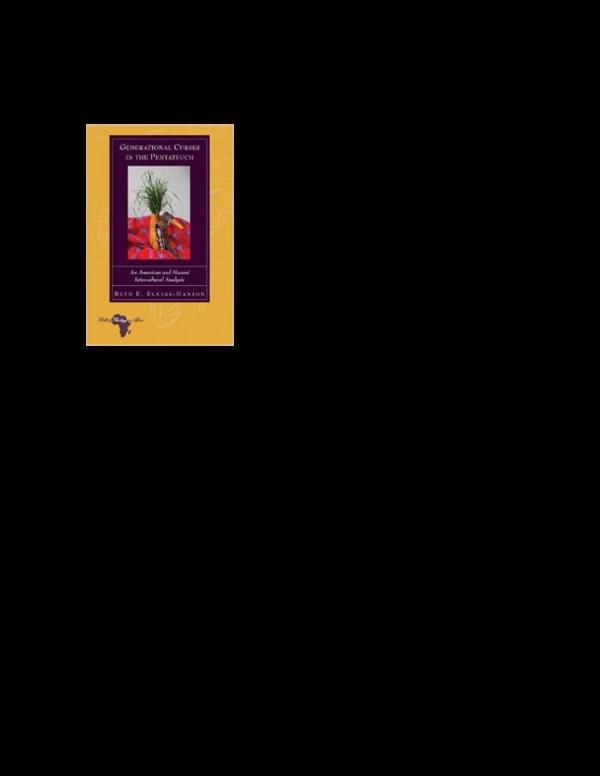 PDF) Review: Beth E  Elness-Hanson, Generational Curses in the