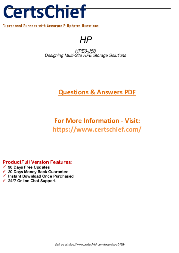 PDF) HPE0-J | Leon Thompson - Academia edu