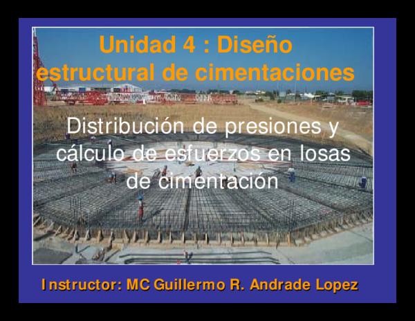 Pdf Unidad 4 Diseño Estructural De Cimentaciones Angel