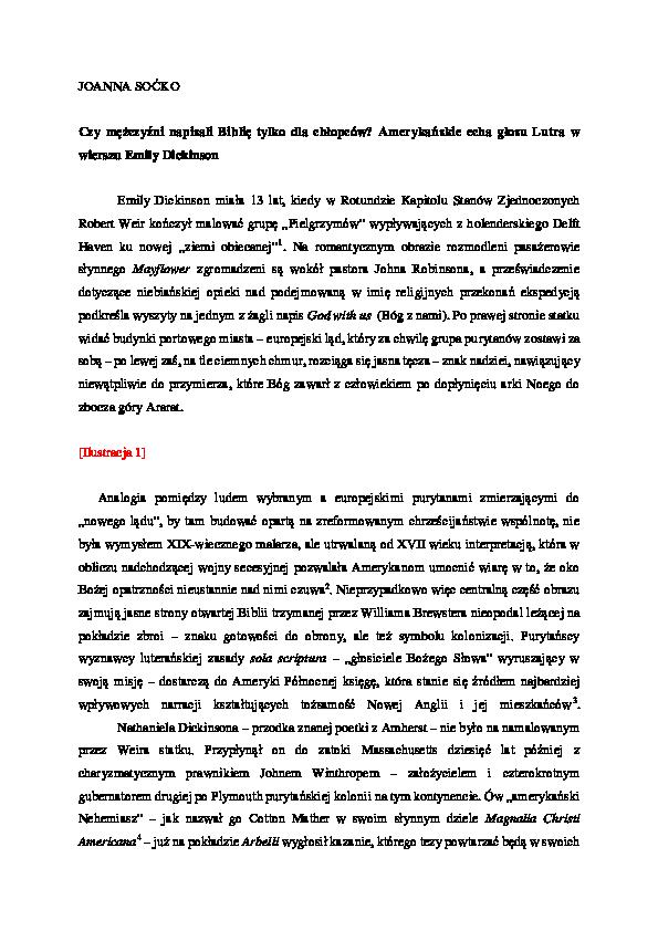 Doc Socko Joanna Czy Mężczyźni Napisali Biblię Tylko Dla