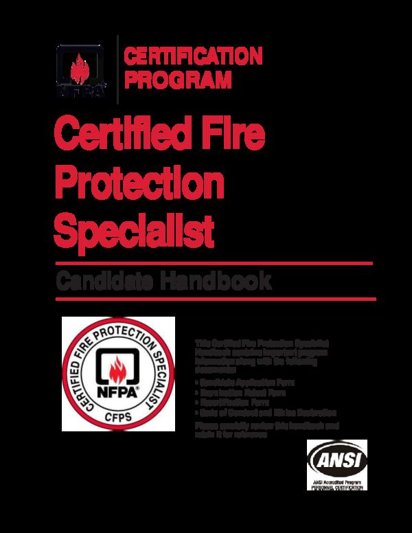 PDF) NFPA CFPS Handbook | Mudassar Adil - Academia edu