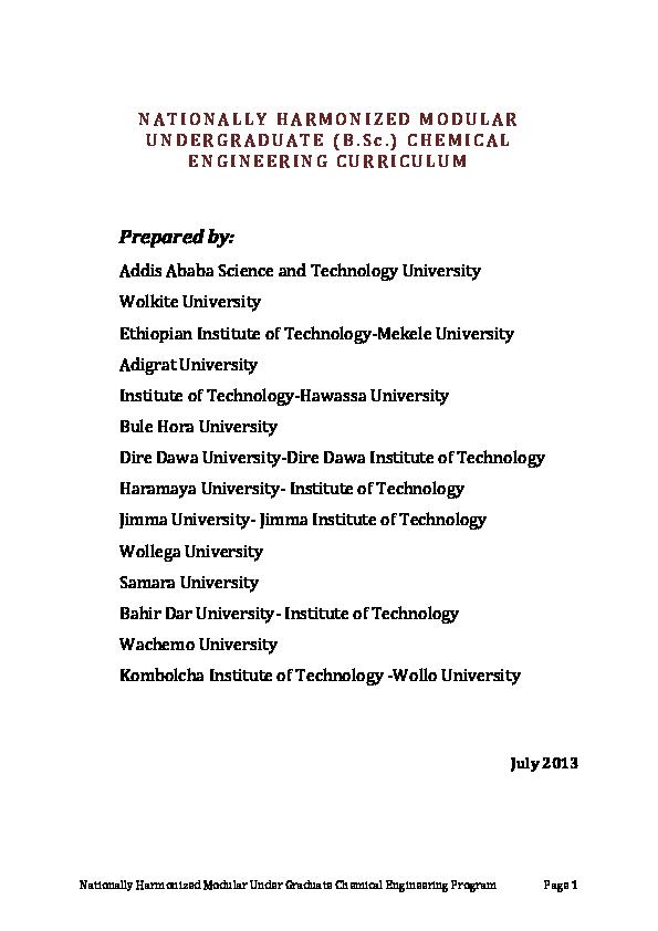 Dire Dawa University Master Program