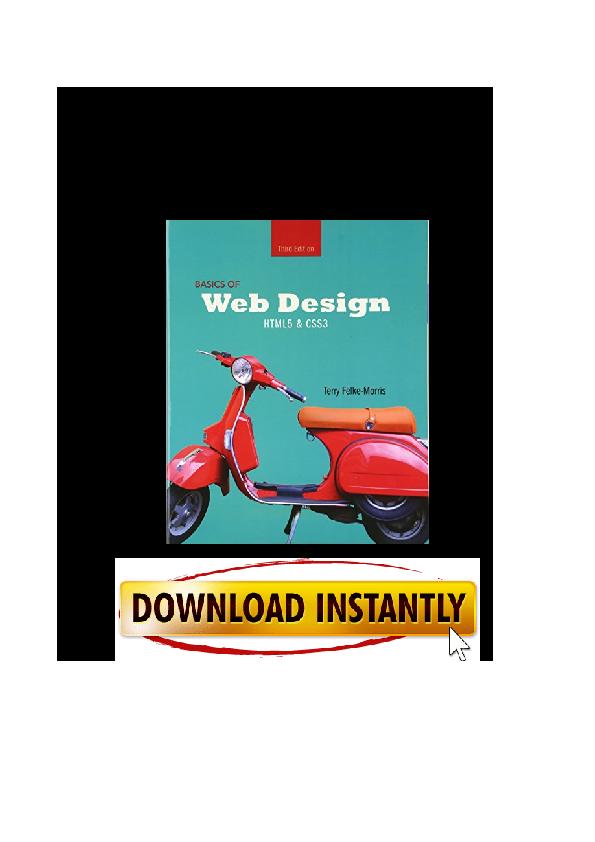 Pdf Basics Of Web Design Html5 Css3 3rd Edition By Ernest Woodberry Academia Edu