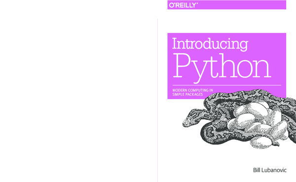PDF) Introducing Python | TIEYI LI - Academia edu