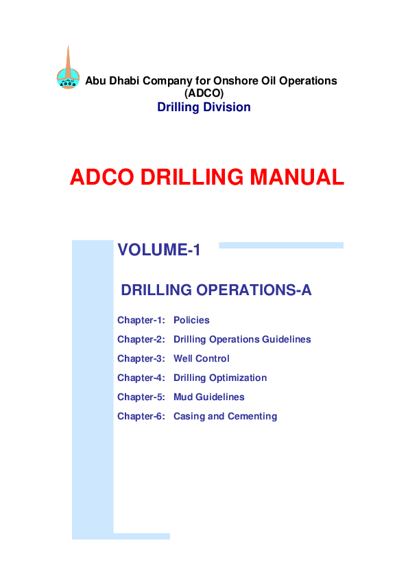 PDF) Abu Dhabi Company for Onshore Oil Operations (ADCO