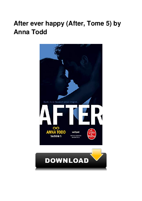 Pdf After Ever Happy After Tome 5 By Laisti Cristiani