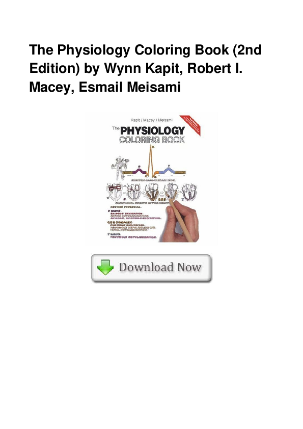 PDF) The Physiology Coloring Book (2nd Edition) by Wynn ...