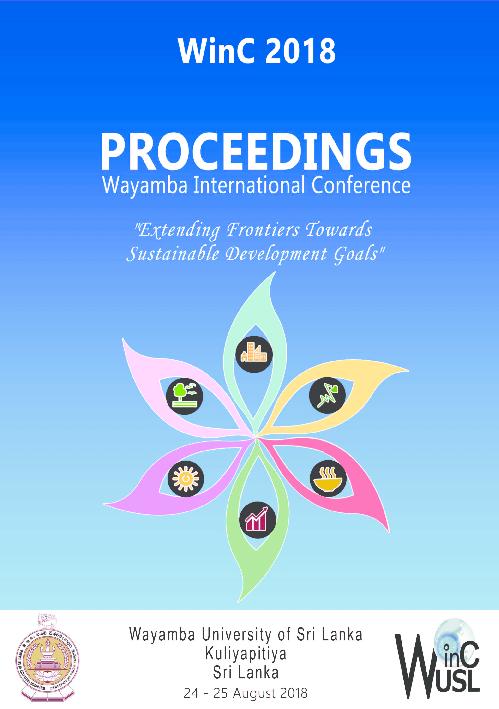 PDF) Wayamba University of Sri Lanka Proceedings Wayamba