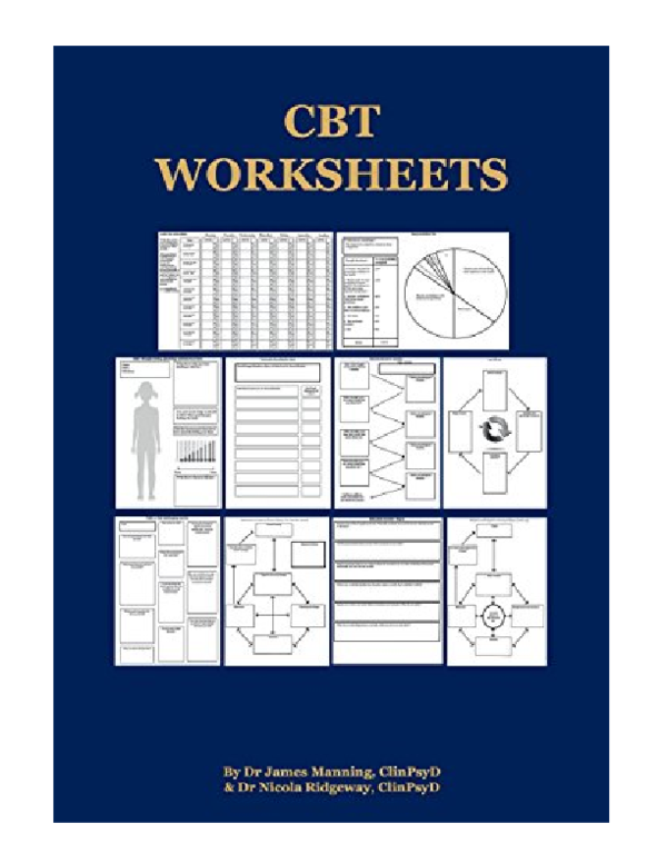 (PDF) CBT Worksheets CBT Worksheets for CBT Therapists in ...