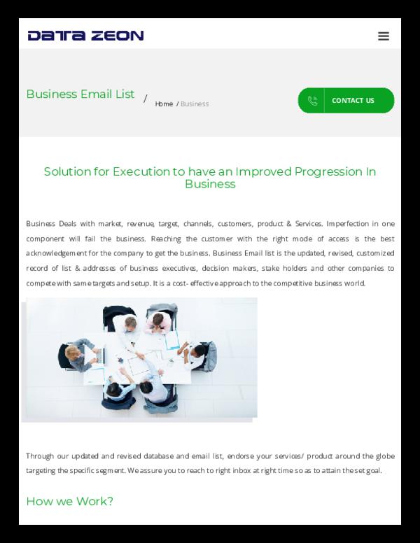PDF) Www datazeon com business email list html (1) | jessica