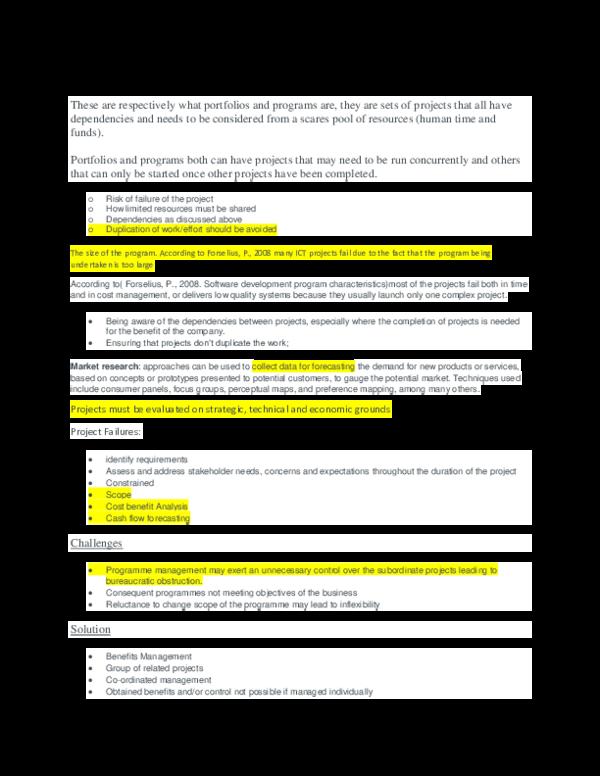 PDF) Inf4825 Study Notes | Kgomotso Mokwape - Academia edu