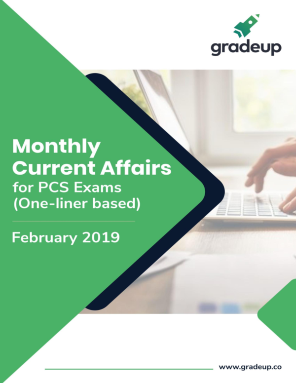 PDF) Pcs monthly current affairs feb 2019 english pdf