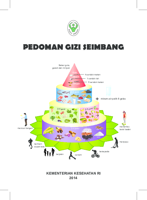 Pdf Buku Pedoman Gizi Seimbang Kemenkes Republik Indonesia