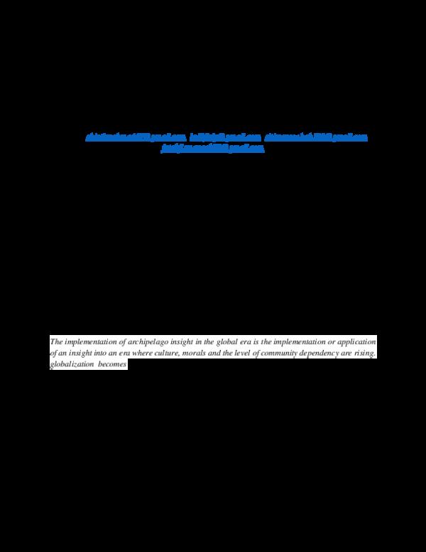 Pdf Implementasi Wawasan Nusantara Di Era Global Shintia Rahma Academia Edu