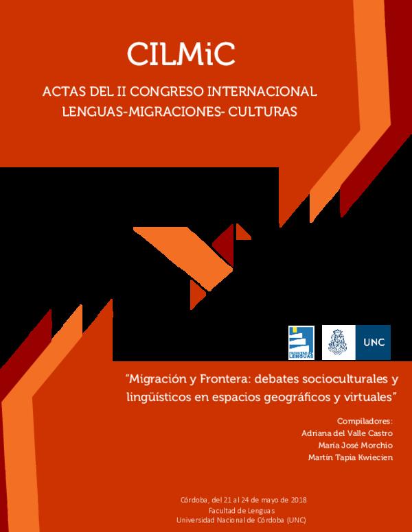 Pdf Actas Del Ii Congreso Internacional Lenguas Migraciones