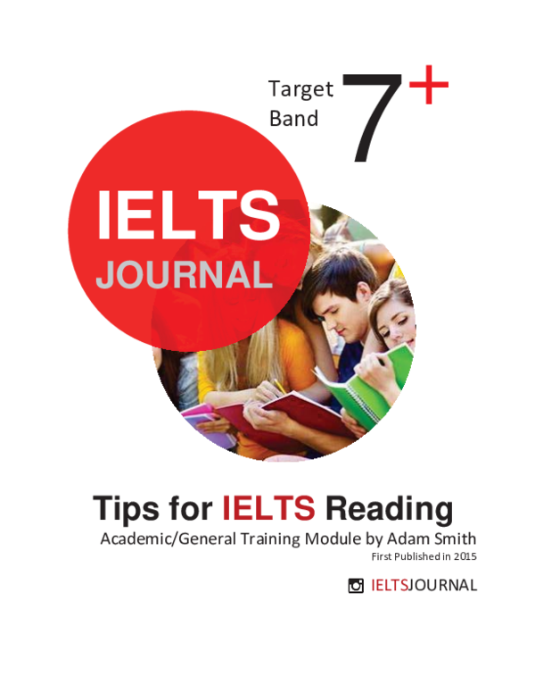 PDF) Tips for IELTS Reading Academic/General Training Module