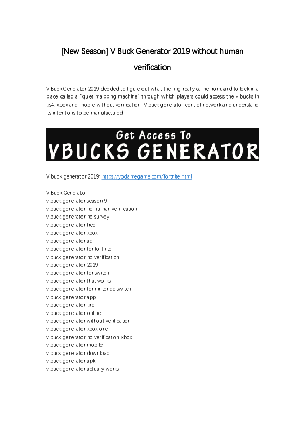 Free V Buck Codes Generator 207 246 80 62 Dsl Static