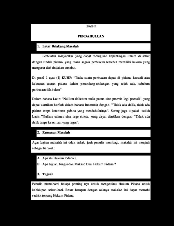 Doc Makalah Hukum Pidana Li Fra Academia Edu