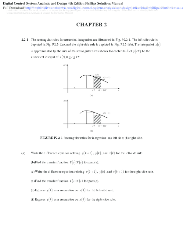 PDF) Digital Control System Analysis and Design 4th Edition