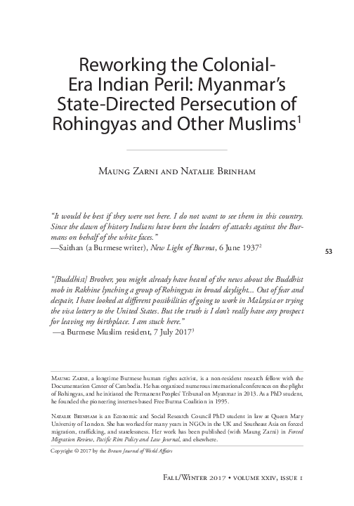 PDF) Zarni and Brinham 24  | natalie brinham - Academia edu