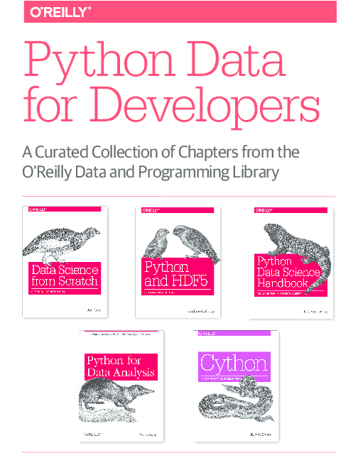 PDF) Python Data for Developers from the O'Reilly Data and