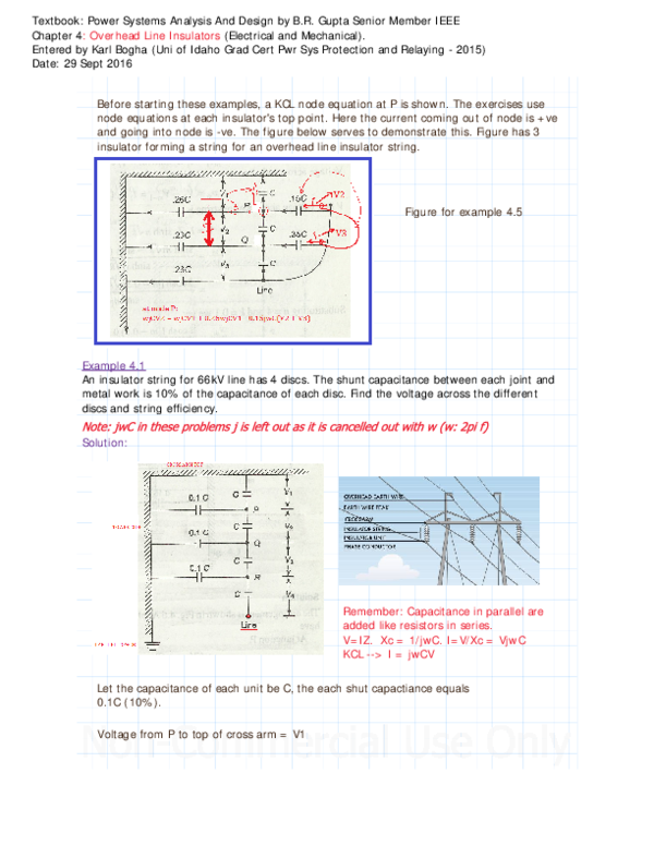 Pdf Overhead Line And Substation Insulation Calculations Solved Examples Problems Karl S Bogha Academia Edu