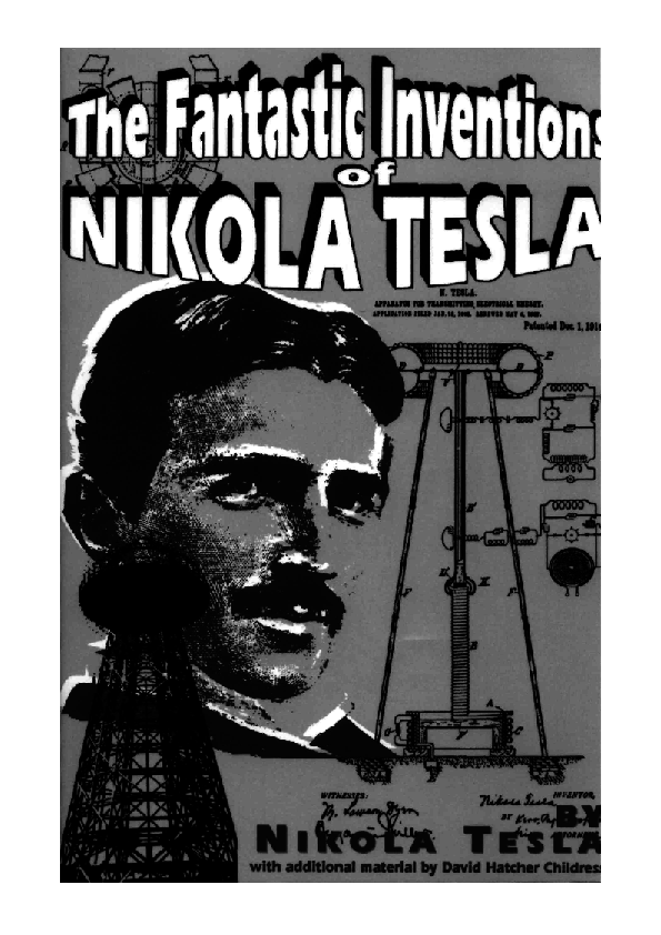 Pdf The Fantastic Inventions Of Nikola Tesla Nikola Tesla Vladan Ristivojevic Academia Edu