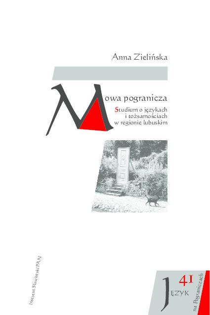 Pdf A Zielinska Mowa Pogranicza 1 Anna Zielińska