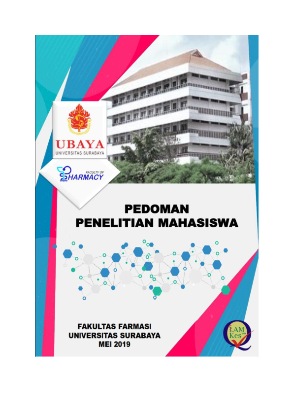 Pdf Pedoman Penelitian Mahasiswa Ff Ubaya20190817 10884 Hn3hxc Agung Indiraprana Academia Edu