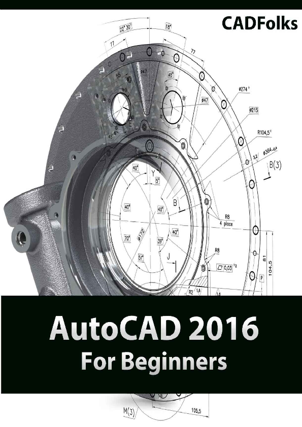 PDF) AutoCAD 2016 For Beginners CADFolks | Christian