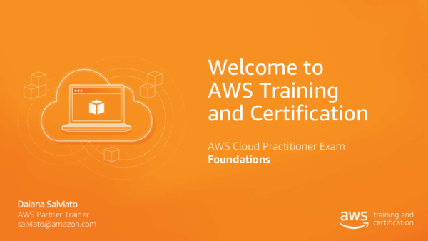 PDF) Welcome to AWS Training and Certification AWS Cloud