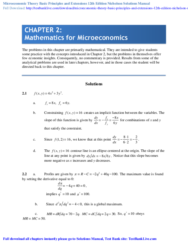 PDF) Macroeconomics Principles and Policy 13th Edition