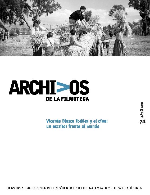 Pdf Archivos Filmoteca Vicente Blasco Ibáñez Manuel San Germán Academia Edu