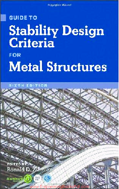 PDF) Guide to Stability Design Criteria for Metal Structures