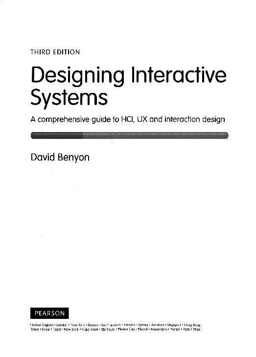 Pdf Designing Interactive Systems A Comprehensive Guide To Hcl Ux And Interaction Design Xiao Zhang Academia Edu