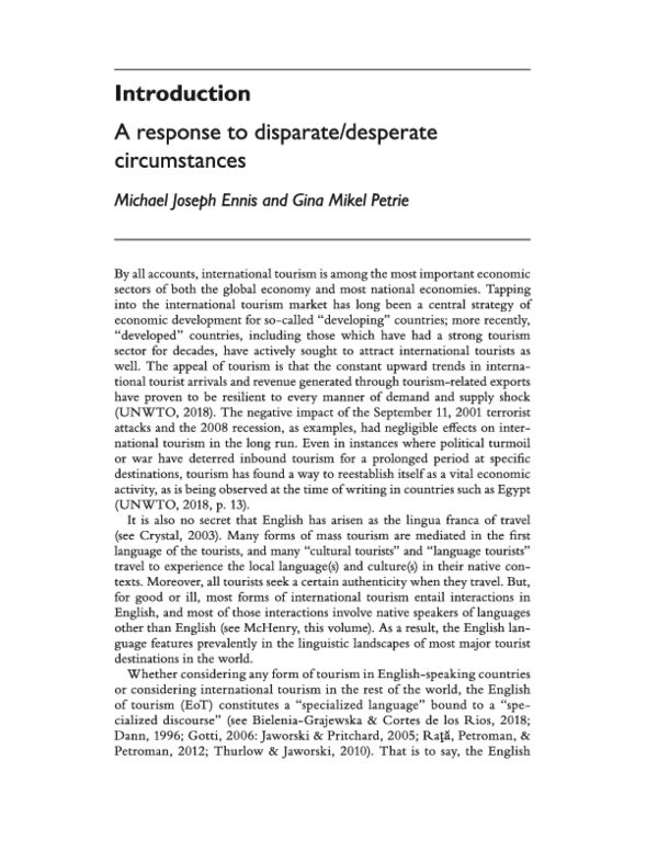 Pdf Introduction A Response To Disparate Desperate Circumstances Michael Ennis Academia Edu The survivors were desperate for food. disparate is an adjective that means different in every way. academia edu